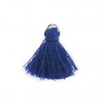 Βαμβακερό φουντάκι μπλε 3εκ 10τεμ