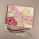 Βιβλίο ευχών με θέμα πριγκίπισσα