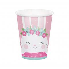 Ποτήρια Χάρτινα Birthday Bunny 8τεμ