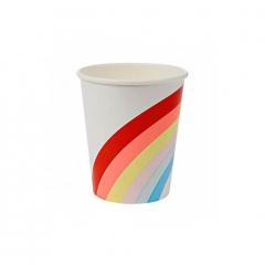 Ποτήρι χάρτινο με θέμα Rainbows & Unicorns Meri Meri