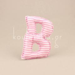 Μαξιλαράκι σε σχήμα γράμμα Β