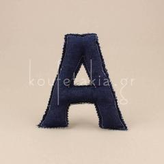 Μαξιλαράκι σε σχήμα γράμμα Α