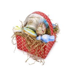 Πασχαλινό καλαθάκι δώρο για το νονό