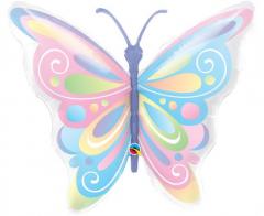 Μπαλόνι φόιλ 102εκ. Beautiful Butterfly 1τεμ.