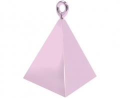 Βαρίδι πυραμίδα για μπαλόνια Pearl Pink