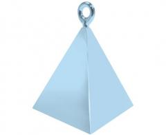 Βαρίδι πυραμίδα για μπαλόνια Pearl Light Blue