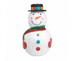 Χριστουγεννιάτικη πινιάτα χιονάνθρωπος