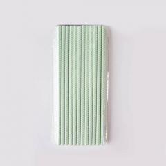Χάρτινα καλαμάκια με μιντ zigzag μοτίβο