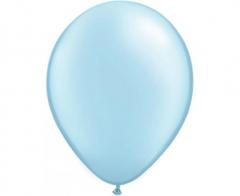 Μπαλόνια λάτεξ 28εκ. Pearl Light Blue 10τεμ.