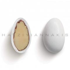 Κουφέτα αμυγδάλου κλασσικό λευκό γυαλισμένο 4kg