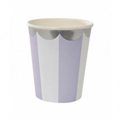 Ποτήρι λιλά Meri Meri Lavender
