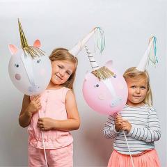 Μπαλόνι σε σχήμα μονόκερου Rainbows & Unicorns Meri Meri