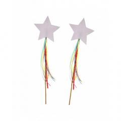 Χάρτινα ραβδάκια 8 τμχ Rainbows & Unicorns Meri Meri