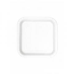 Πιάτο χάρτινο γλυκού σε λευκό χρώμα 17 εκ