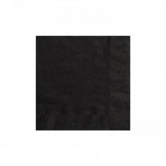 Χαρτοπετσέτες σε μαύρο χρώμα