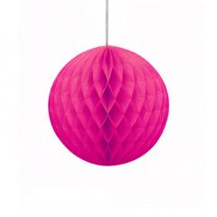 Μπάλα honeycomb σε φούξια χρώμα
