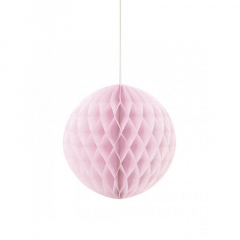Μπάλα honeycomb σε ροζ χρώμα