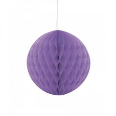 Μπάλα honeycomb σε μωβ χρώμα