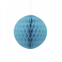 Μπάλα honeycomb σε τυρκουάζ χρώμα