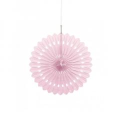 Διακοσμητική βεντάλια σε ροζ χρώμα