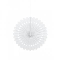 Διακοσμητική βεντάλια σε λευκό χρώμα