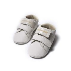 Δερμάτινο sneaker αγκαλιάς με διπλό χρατς Babywalker