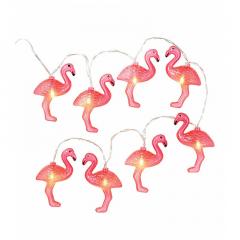 Φωτιζόμενη γιρλάντα με θέμα Flamingo Talking