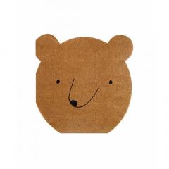 Χαρτοπετσέτες σε σχήμα αρκούδας Let's Explore Meri Meri