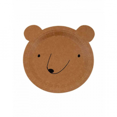 Πιάτο Φαγητού σε σχήμα αρκούδας Let's Explore Meri Meri
