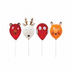 Σετ μπαλόνια ζώα του δάσους Let's Explore Meri Meri