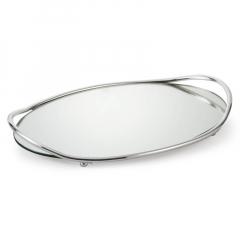 Δίσκος γάμου επάργυρος με καθρέπτη