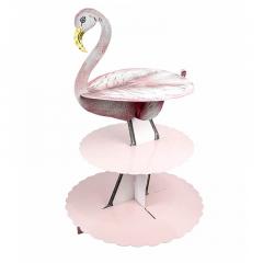 Χάρτινο stand φαγητού Flamingo Talking