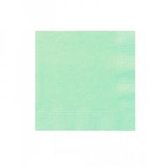 Χαρτοπετσέτες σε mint χρώμα