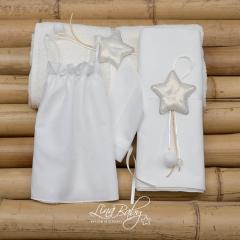 Λαδόπανο βαμβακερό για κορίτσι Shiny Star