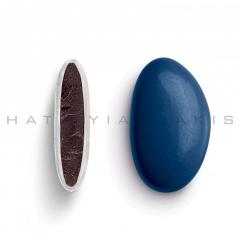 Κουφέτα σοκολάτας Bijoux Supreme μπλε ηλεκτρίκ γυαλισμένο 1kg