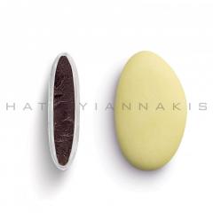 Κουφέτα σοκολάτας Bijoux Supreme κίτρινο ανοιχτό ματ 1kg