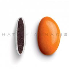 Κουφέτα σοκολάτας Bijoux Supreme πορτοκαλί γυαλισμένο 1kg