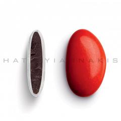 Κουφέτα σοκολάτας Bijoux Supreme κόκκινο γυαλισμένο 1kg