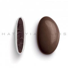 Κουφέτα σοκολάτας Bijoux Supreme καφέ σοκολατί γυαλισμένο 1kg