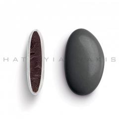 Κουφέτα σοκολάτας Bijoux Supreme ανθρακί γυαλισμένο 1kg