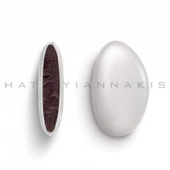 Κουφέτα σοκολάτας Bijoux Supreme περλέ λευκό 1kg