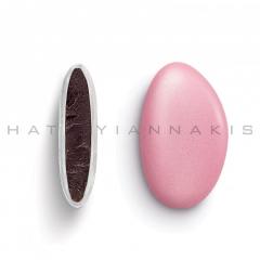 Κουφέτα σοκολάτας Bijoux Supreme περλέ ροζ 1kg