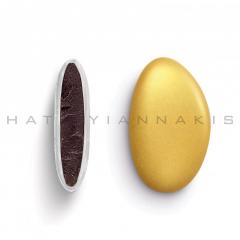 Κουφέτα σοκολάτας Bijoux Supreme μεταλλιζέ χρυσό 1kg