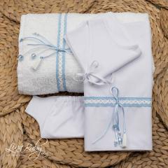 Λαδόπανο βαμβακερό για αγόρι Sea Knot