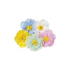 Διακοσμητικά Λουλούδια σε διάφορες αποxρώσεις 40εκ