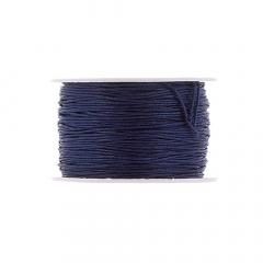 Κορδόνι κερωμένο σε μπλε χρώμα