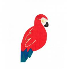 Χαρτοπετσέτα σε σχήμα παπαγάλος πειρατής
