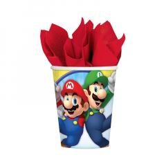 Χάρτινα ποτήρια Super Mario