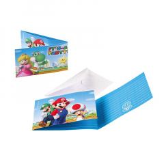 Προσκλήσεις γενεθλίων Super Mario