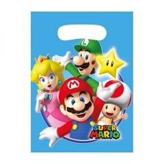 Πλαστικές τσάντες δώρου Super Mario